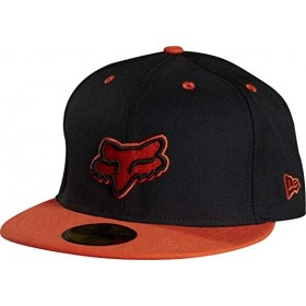 FEAR THE BEARD NEW ERA CAP BLACK/ORANGE