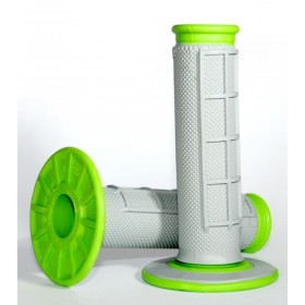 Revêtements Renthal Dual Grip gris/vert