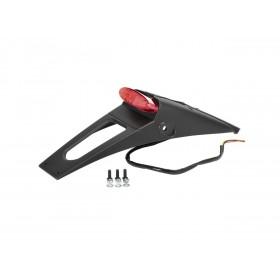 Extension de garde boue arrière POLISPORT RSP LED 2.0 noir avec feu + éclairage de plaque