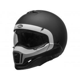 Casque BELL Broozer Cranium Matte Black/White taille XL