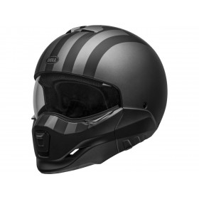 Casque BELL Broozer Free Ride Matte Gray/Black taille XL