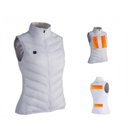 Gilet chauffant CAPIT WarmMe blanc taille S femme