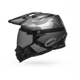 Casque BELL MX-9 Adventure MIPS Matte/Gloss Blackout taille XXL