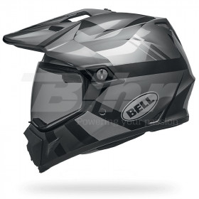 Casque BELL MX-9 Adventure MIPS Matte/Gloss Blackout taille XS