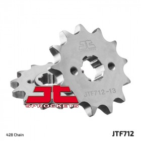 Pignon JT SPROCKETS 13 dents acier standard pas 428 type 712