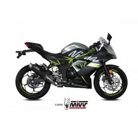 Silencieux MIVV GP Pro carbon/casquette inox Kawasaki Ninja 125