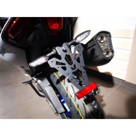 Support de plaque V PARTS noir Yamaha T-Max 560