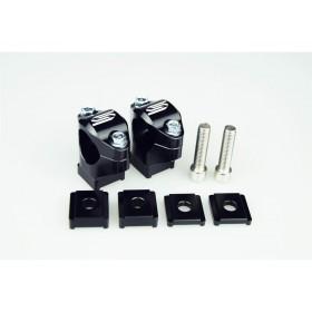Pontets de guidon SCAR Ø28.6mm +30 à 45mm té de fourche d'origine KTM/Husqvarna