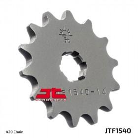 Pignon JT SPROCKETS 14 dents acier standard pas 420 type 1540