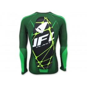 Sous-vêtement UFO Atrax avec protection dorsale vert taille S/M