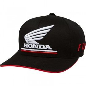 YOUTH HONDA FANWEAR FLEXFIT [BLK] OS