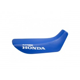 Housse de selle BLACKBIRD Traditional bleue Honda