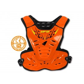 Pare-pierre UFO Reactor 2 Evolution noir/orange enfant