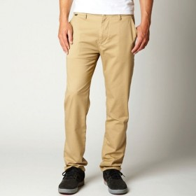 THROTTLE CHINO PANT DARK KHAKI W28