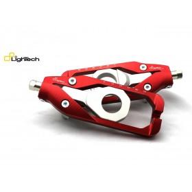 Tendeur de chaine LIGHTECH rouge Yamaha YZF-R1/R1M