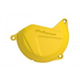 Protection de carter d'embrayage POLISPORT jaune Husqvarna