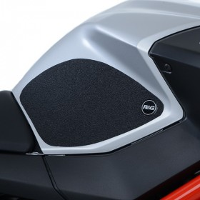 Kit grip de réservoir R&G RACING translucide (2 pièces) Aprilia Shiver 900
