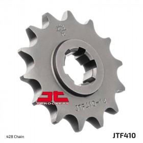 Pignon JT SPROCKETS 16 dents acier standard pas 428 type 410