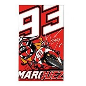 SERVIETTE BAIN RED MARC MARQUEZ 93