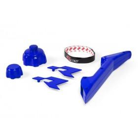 Kit accessoires bidon d'essence RACETECH bleu