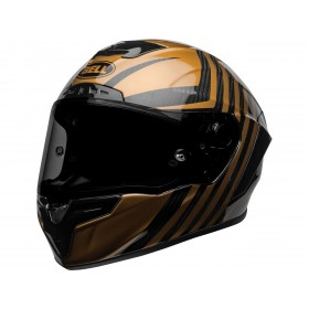 Casque BELL Race Star Flex DLX Mate/Gloss Black/Gold taille S