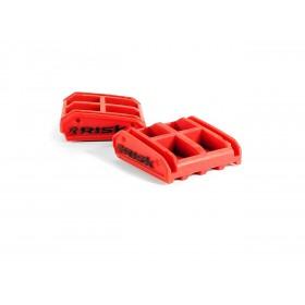 Caoutchouc de remplacement RISK RACING Lock-n-Load rouge