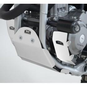 Sabot moteur R&G RACING alu argent Honda CRF250L/250M