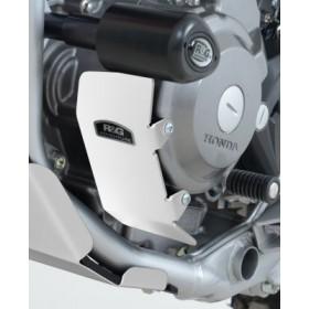Protection moteur gauche R&G RACING alu argent Honda CRF250M/250L