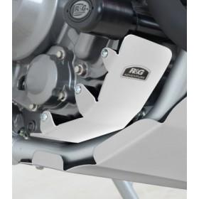 Protection moteur droit R&G RACING alu argent Honda CRF250M/250L