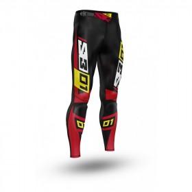 Pantalon S3 Collection 01 noir/rouge taille 36