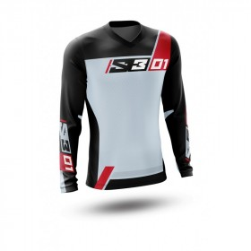 Maillot S3 Collection 01 gris taille XS