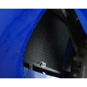 Protection de radiateur (eau) R&G RACING noir Honda CBR1100 Blackbird