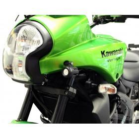 Support éclairage DENALI phares D2 & DM Kawasaki Versys 650