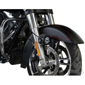 Support éclairage DENALI garde boue Harley Davidson