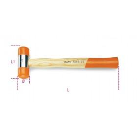 Maillet à embouts nylon BETA taille 35 manche en bois