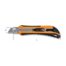 Cutter à lame sécable 18 mm BETA 1171MB avec 6 lames de rechange