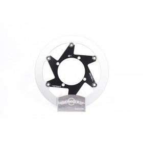 Disque de frein BERINGER K14LGBF Aeronal® fonte rond flottant noir