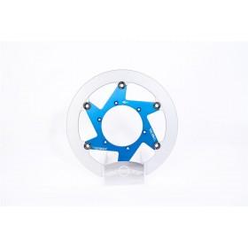 Disque de frein BERINGER S10LGBLF Aeronal® fonte rond flottant bleu