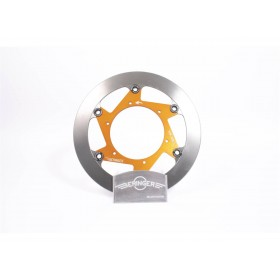 Disque de frein BERINGER KT1LGOMMF Aeronal® fonte rond flottant orange