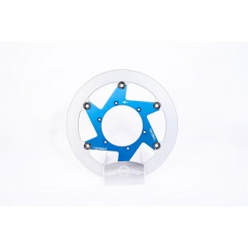 Disque de frein BERINGER Y21LGBLF Aeronal® fonte rond flottant bleu