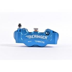 Etrier de frein radial gauche BERINGER Aerotec® 4 pistons Ø32mm entraxe 100mm bleu