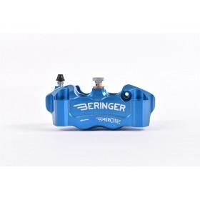 Etrier de frein radial gauche BERINGER Aerotec® 4 pistons Ø32mm entraxe 108mm bleu
