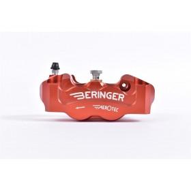 Etrier de frein radial gauche BERINGER Aerotec® 4 pistons Ø32mm entraxe 100mm rouge
