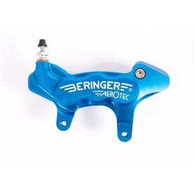 Etrier de frein axial gauche BERINGER Aerotec® 6 pistons Ø27mm bleu