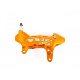 Etrier de frein axial gauche BERINGER Aerotec® 6 pistons Ø27mm orange