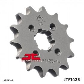 Pignon JT SPROCKETS 15 dents acier standard pas 428 type 1425