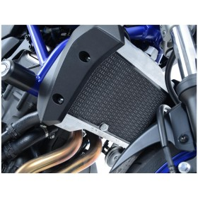 Protection de radiateur R&G RACING titane Yamaha MT-07