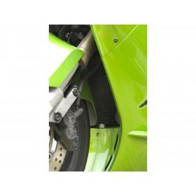 Protection de radiateur R&G RACING noir Kawasaki Ninja ZX-12R