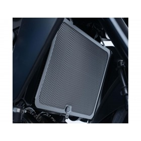 Protection de radiateur R&G RACING titane Yamaha MT-09