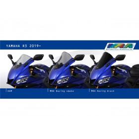 """Bulle MRA Racing """"R"""" noir Yamaha YZF-R3"""
